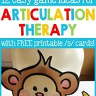 Quick and Easy Articulation Activities for Speech Therapists