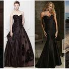 40 Stunning Black Wedding Dresses for Modern Brides