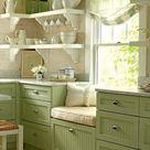 Cucine provenzali verdi | Blog di arredamento Fillyourhomewithlove