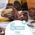 5 Tipps für den besten Marmorkuchen