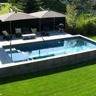 Une piscine pour tous les styles   Elle Décoration