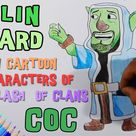 Goblin Wizard Draw Cartoon Characters Of Clash Of Clans