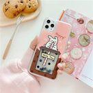 Boba milk bubble tea quicksand iphone case