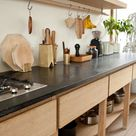 A Scandinavian-Inspired Kitchen with Hints of Japan