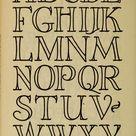 Letter Fonts