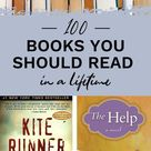 100 BOOKS YOU SHOULD READ IN A LIFETIME