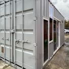 20 ft Container Home   The Marfa Model   Shiplap / No Rooftop Views  / Off grid Water Only