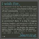 Classroom Mission Statement