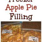 Freezer Apple Pie Filling + Video Tutorial