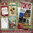 Travel Scrapbook Pages