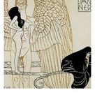 'Calendar Page for January 1901, For Ver Sacrum Magazine, Austria' Giclee Print - Gustav Klimt | AllPosters.com