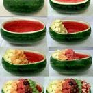 Watermelon Fruit Bowls