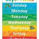 World of Eric Carle™ Days of the Week Chart Grade PK 2