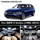 USD$17.5 Perfect White Bulbs Car LED Interior Map Dome Light Package Kit Fit For 1990 2011 2012 2013  BMW 3 Series E36 E46 E90 E91 E92