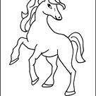 Pferde  - Kostenlose Malvorlagen und Ausmalbilder