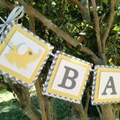 Yellow Baby Showers