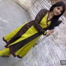 Pakistani Girl in yellow Shalwar kameez