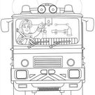 Online coloring page Fireman Sam
