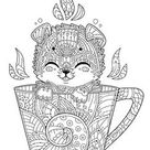 coloring page & line art