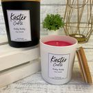 Ruby Ruby Soy Candle - Black / No