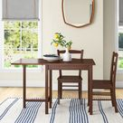 Lark Manor Partida 5Piece Dining Table w/ 4 Ladder Back Chairs Brown 29.53 in, Wood   Wayfair Canada