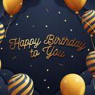 Happy Birthday Custom Banner Decorations Photography Backdrop D616 - 10'W*10'H(3*3m)