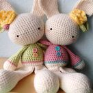 Spring Bunny pattern by Josephine Wu