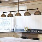 Fünfflammige Pendelrohr-Balkenleuchte Leuchte für Theken und Tische