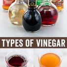 Types of Vinegar and Uses