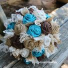 Fabric Flower Bouquets