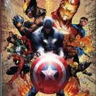 Details about MARVEL Comics CIVIL WAR Oversized Hardcover 1ST Print OOP 2008 Mike Turner VG+