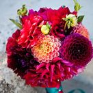Dahlia Wedding Bouquets
