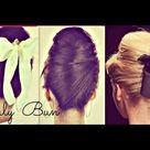 Sock Bun Hairstyles