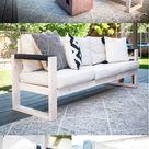 DIY IKEA Outdoor Sofa