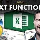 Excel Formulas and Functions Part 6 Text Functions   Chris Dutton   Skillshare