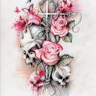 Girly Sleeve Tattoos