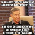 Occupational Therapy Humor