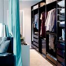 Closet Behind Bed