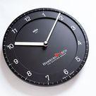 BRAUN ABK 30 Wall Clock type 4861 - 1982 by Dietrich Lubs Germany Quartz Design 1980s 90s ABW Hambur