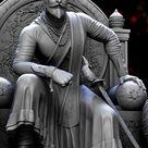 Shivaji Maharaj 3d model sculpted in Zbrush, Prasad Nambiar