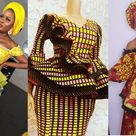 Latest Ankara and Lace Styles 2020 : African Fashion Skirt and Blouse, Gowns, Party Dresses For You