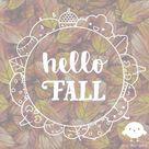 Fall Window Drawing Pattern
