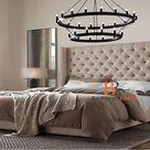 Lera Grandeur Wingback Bed Frame
