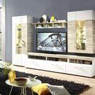 12 Wohnzimmer Schrank Beige