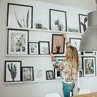 HOME UPDATE: Unsere Gallery Wall ist endlich fertig - Tipps & Tricks!   Feel Wunderbar