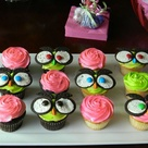 Owl Birthday Cupcakes