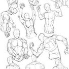 male body drawing reference pose