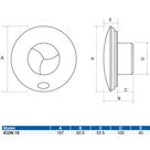 Airflow iCON 15 100mm Extractor Fan - 72683501