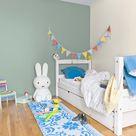 Peinture mur,boiserie,radiateur Chambre enfants RIPOLIN vert d'eau satin 2.5 l