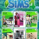 10 CC packs para los SIMS 4